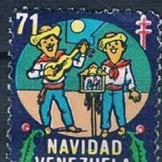 Sellos: VENEZUELA 4 VIÑETAS 4 FOTOGRAFÍAS. Lote 144912538