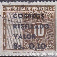 Sellos: 1965 - VENEZUELA - CORREOS RESELLADO - YVERT 720. Lote 150512674