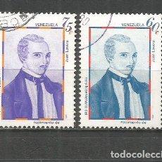 Sellos: VENEZUELA YVERT NUM. 1071/1072 SERIE COMPLETA USADA. Lote 152428650