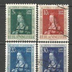Sellos: VENEZUELA CORREO AEREO YVERT NUM. 358/361 SERIE COMPLETA USADA. Lote 152511650