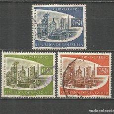 Sellos: VENEZUELA CORREO AEREO YVERT NUM. 716/718 SERIE COMPLETA USADA. Lote 152512790