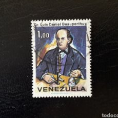 Sellos: VENEZUELA. YVERT 839 SERIE COMPLETA USADA. CIENTÍFICO LUIS DANIEL BEAUPERTHUY.. Lote 177502773