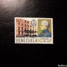 Sellos: VENEZUELA. YVERT 1056 SERIE COMPLETA NUEVA SIN CHARNELA. CASA DE FRANCISCO DE MIRANDA.. Lote 154056948