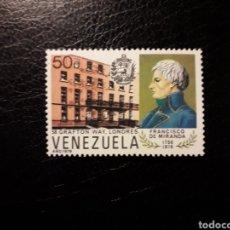 Sellos: VENEZUELA. YVERT 1056 SERIE COMPLETA NUEVA SIN CHARNELA. CASA DE FRANCISCO DE MIRANDA.. Lote 154056949