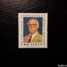 Sellos: VENEZUELA. YVERT A-941 SERIE COMPLETA NUEVA SIN CHARNELA. EDUCADOR JOSÉ MARÍA NUÑEZ PONTE.. Lote 154194644
