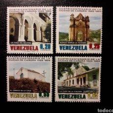 Sellos: VENEZUELA. YVERT 789/92 SERIE COMPLETA NUEVA SIN CHARNELA. CIUDAD DE CARORA.. Lote 154352077