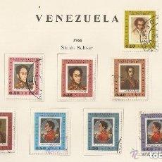 Sellos: VENEZUELA. 1966. AÉREO. YT Nº 895/906. Lote 155893154