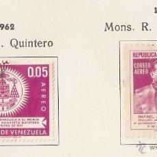 Sellos: VENEZUELA . 1962. AÉREO. YT Nº 750,75. Lote 155893446