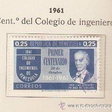 Sellos: VENEZUELA.1961 YVERT Nº 645. Lote 155893850