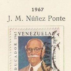 Sellos: VENEZUELA. 1967. AÉREO. YT Nº 941. Lote 155894226