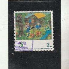 Sellos: VENEZUELA 1983 - MICHEL NRO. 2260 - USADO. Lote 155936550