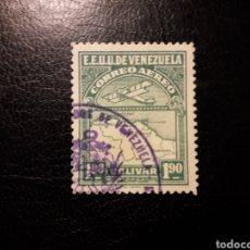 Sellos: VENEZUELA. YVERT A-10 SELLO SUELTO USADO. AVIONES.. Lote 157651904