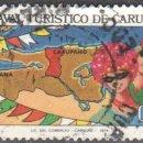 Sellos: VENEZUELA - UN SELLO - EDIFIL #906 -***CARNAVAL TURISTICO DE CARUPANO.***- AÑO 1974 - USADO. Lote 159017366