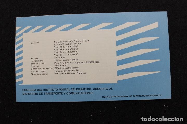 Sellos: SERIE 4 SELLOS NUEVOS DE VENEZUELA AÑO 1979 BICENTENARIO DEL NACIMIENTO DE SAN MARTÍN - Foto 2 - 161251502