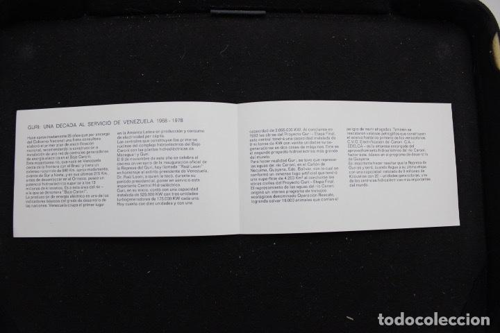 Sellos: Sello conmemorativo 10 años de la inauguración de la represa del Guri (1979) - Foto 3 - 161252098