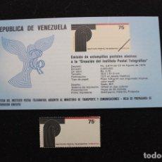 Sellos: SELLO INSTITUTO POSTAL TELEGRÁFICO DE VENEZUELA (1979). Lote 161252614