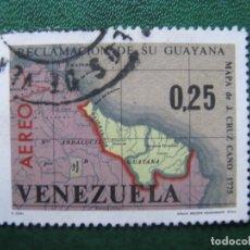 Sellos: VENEZUELA, 1965* RECLAMACION DE SU GUAYANA, YVERT 863 AEREO. Lote 170372388