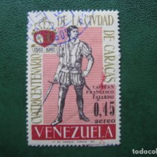 Sellos: VENEZUELA, 1967* 4 CENT. CIUDAD DE CARACAS, YVERT 912 AEREO. Lote 170373688