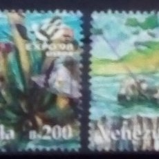 Sellos: VENEZUELA FAUNA SERIE DE SELLOS USADOS. Lote 171524368