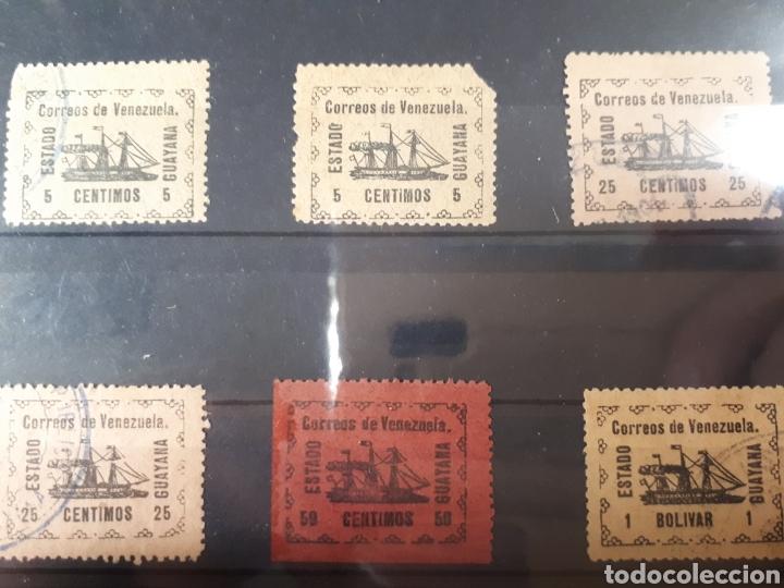 SELLOS DE VENEZUELA MUY DIFICILES AÑO 1903 LOT.B.788 (Sellos - Extranjero - América - Venezuela)