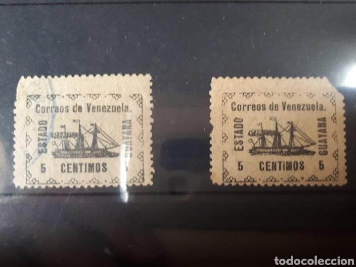 Sellos: Sellos de Venezuela muy dificiles año 1903 lot.b.788 - Foto 2 - 172117072