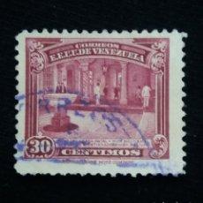 Sellos: CORREOS VENEZUELA, 30 CENTAVOS, PATIO SIMON BOLIVAR, 1915.SIN USAR.. Lote 180194566