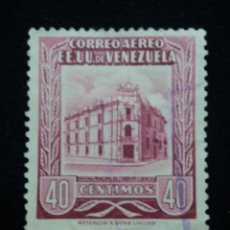 Sellos: CORREOS VENEZUELA, 40 CENTAVOS, CORREOS CARACAS, 195.SIN USAR.. Lote 180194908