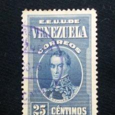 Sellos: CORREOS VENEZUELA, 25 CENTVOS, BOLIVAR,1938. SIN USAR.. Lote 180197211