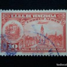 Sellos: CORREOS AEREO VENEZUELA, 10 CENTVOS,1950. SI USAR. Lote 180197540
