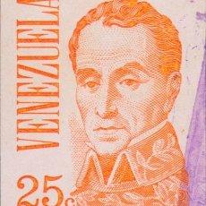 Sellos: SELLO VENEZUELA USADO FILATELIA CORREOS. Lote 182235473