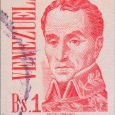 Sellos: SELLO VENEZUELA USADO FILATELIA CORREOS. Lote 182235495