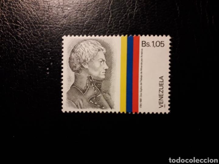 VENEZUELA. YVERT 1216 SERIE COMPLETA NUEVA SIN CHARNELA. FRANCISCO MIRANDA (Sellos - Extranjero - América - Venezuela)