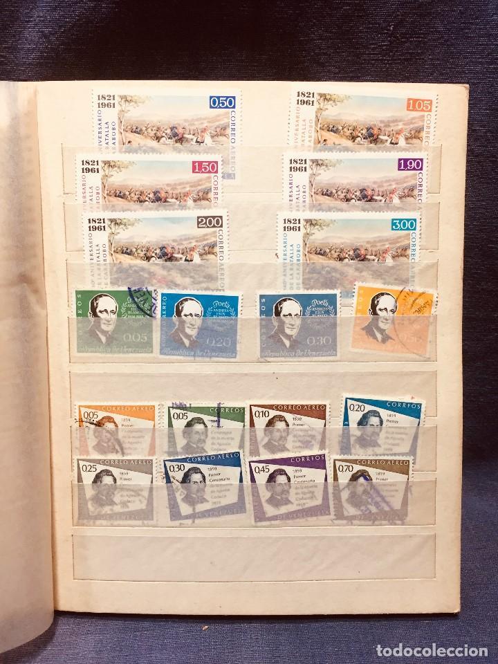 Sellos: colección serie sellos venezuela tarjetas postales aves mediados s xx - Foto 5 - 184549486