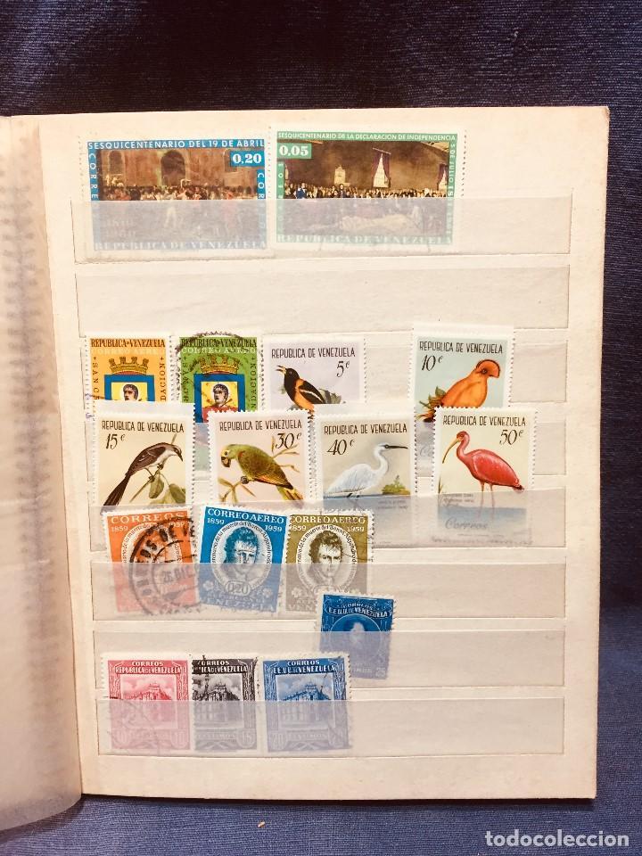 Sellos: colección serie sellos venezuela tarjetas postales aves mediados s xx - Foto 7 - 184549486