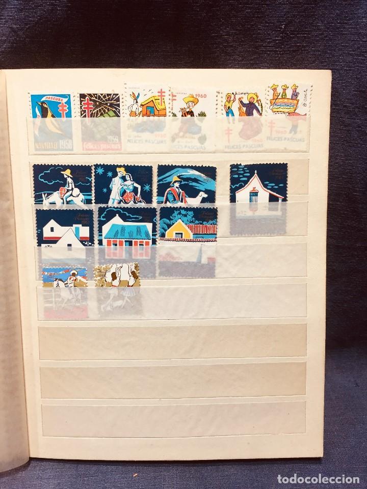 Sellos: colección serie sellos venezuela tarjetas postales aves mediados s xx - Foto 9 - 184549486