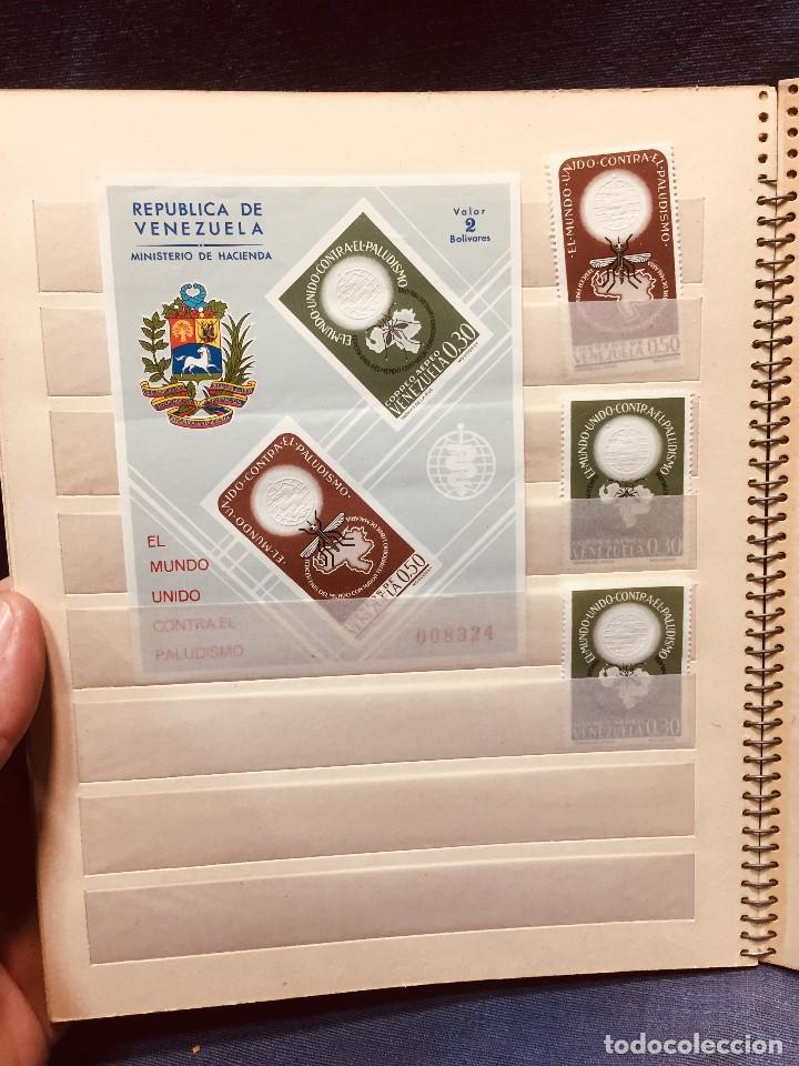 Sellos: colección serie sellos venezuela tarjetas postales aves mediados s xx - Foto 10 - 184549486