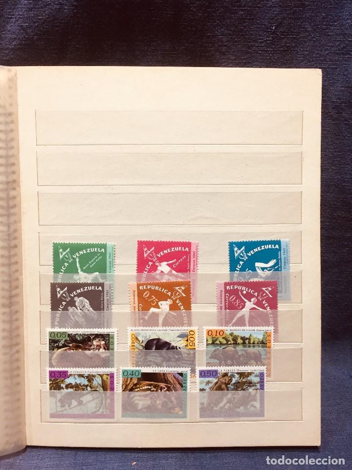 Sellos: colección serie sellos venezuela tarjetas postales aves mediados s xx - Foto 11 - 184549486