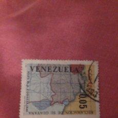 Sellos: VENEZUELA 0,05. RECLAMACIÓN DE SU GUAYANA. Lote 186462738