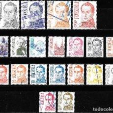 Sellos: VENEZUELA. LOTE DE SELLOS USADOS.. Lote 191839521