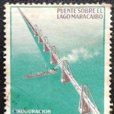 Sellos: 1963. VENEZUELA. 679. INAUGURACIÓN DEL PUENTE SOBRE EL LAGO MARACAIBO. USADO.. Lote 195497391