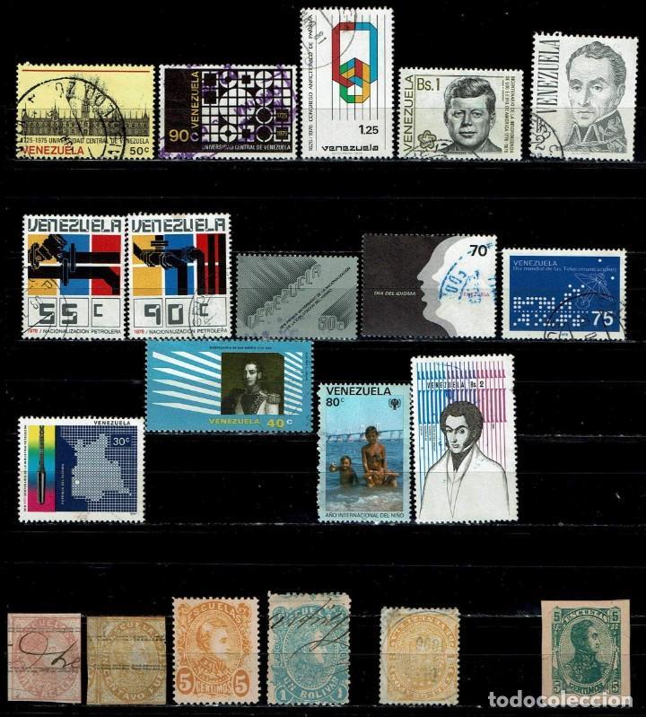 Sellos: VENEZUELA: LOTE DE 41 SELLOS VARIADOS - Foto 2 - 197903770