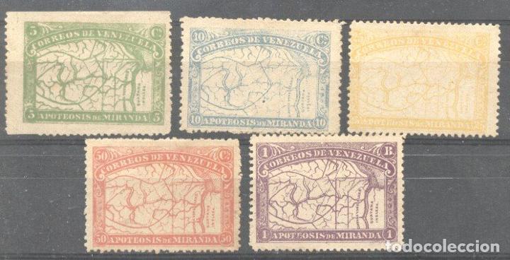VENEZUELA 1896 MIRANDA, MH AM.025 (Sellos - Extranjero - América - Venezuela)