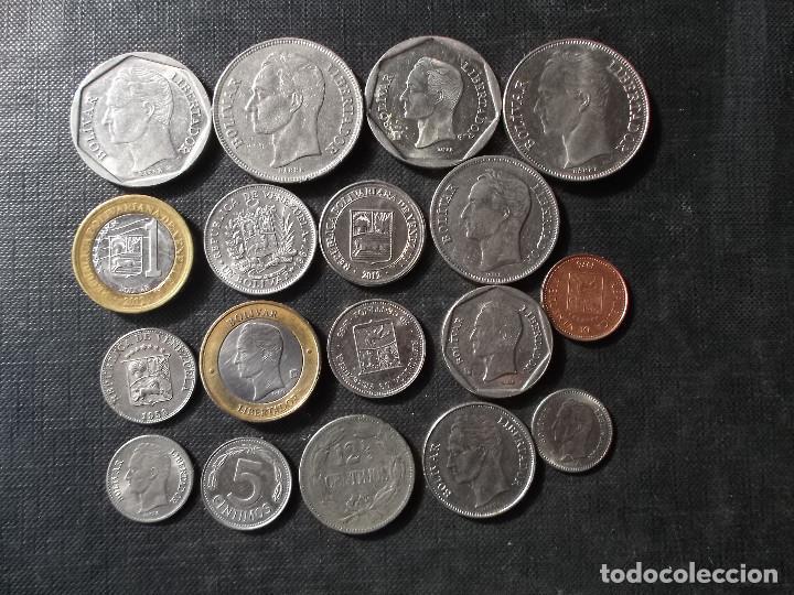 Sellos: conjunto de monedas de Venezuela - Foto 5 - 199674668