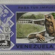 Sellos: SELLO VENEZUELA 0.15 PAGA TUS IMPUESTOS. Lote 202523702