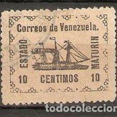 Sellos: VENEZUELA. 1903. YT 98. ESTADO MATURIN. Lote 204168153