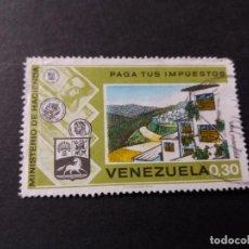 Sellos: SELLO VENEZUELA USADO EL DE LA FOTO. VER TODOS MIS SELLOS NUEVOS Y USADOS. Lote 206317430