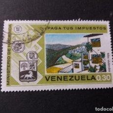 Sellos: SELLO VENEZUELA USADO EL DE LA FOTO. VER TODOS MIS SELLOS NUEVOS Y USADOS. Lote 206317468