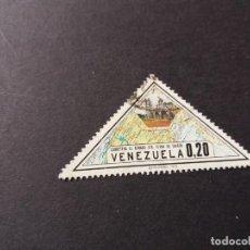 Sellos: SELLO VENEZUELA USADO EL DE LA FOTO. VER TODOS MIS SELLOS NUEVOS Y USADOS. Lote 206317901