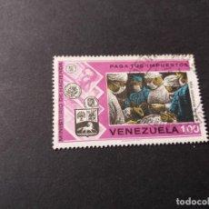 Sellos: SELLO VENEZUELA USADO EL DE LA FOTO. VER TODOS MIS SELLOS NUEVOS Y USADOS. Lote 206318327