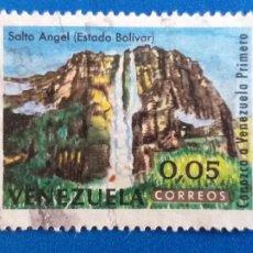 Sellos: SELLO DE VENEZUELA. AÑO 1964. SALTO DEL ANGEL. ESTADO DE BOLIVAR. YVERT 702. Lote 206899958